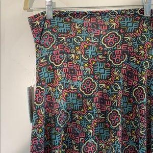 Azure flowy skirt size small